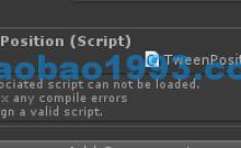 Unity一点小细节:绑定脚本失效,NGUI菜单消失失效问题