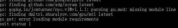 go: gopkg.in/jcmturner/rpc.v1@v1.1.1: parsing go.mod: missing module line